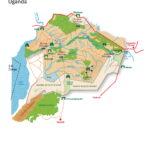 Map of Murchison Falls National Park in Uganda